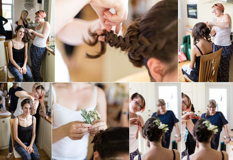 Bridal hair styling and getting ready for wedding day! - Amy Packer