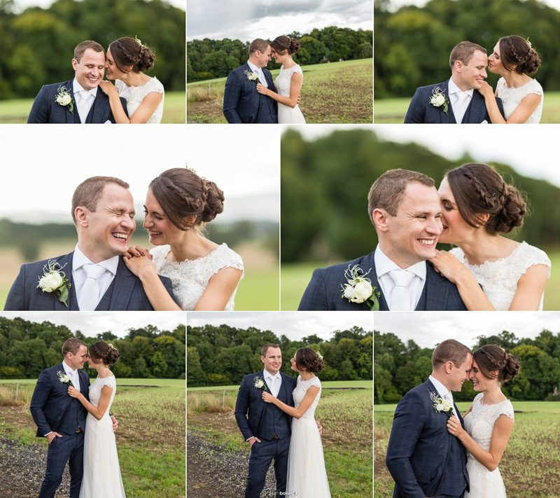 Bride and Groom Portraits - Natural Wedding Photographer - Graham Baker Photography