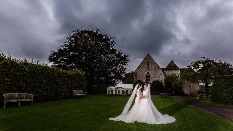 LGBT Wedding at St Augustine's Priory Wedding Bilsington Kent - Photograph by Graham Baker Photography