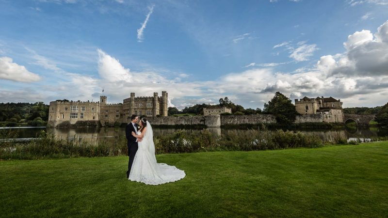 Wedding at Leeds Castle Maidens Tower - Graham Baker Photography