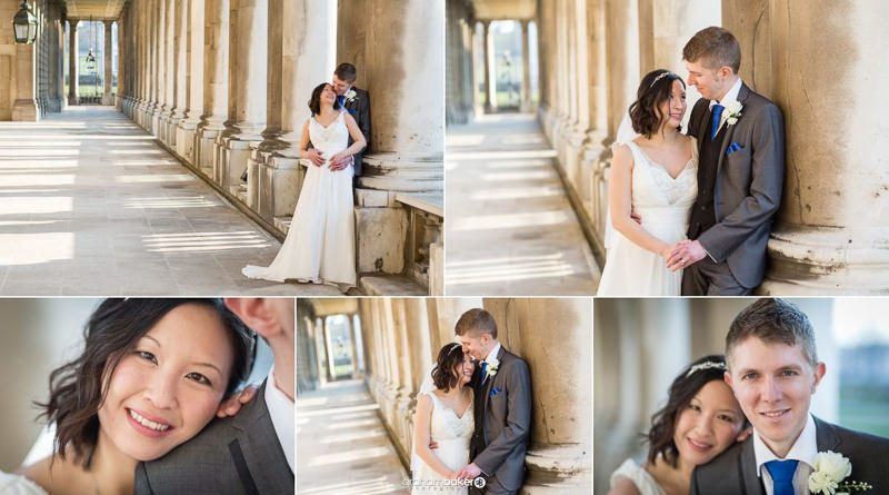 Wedding Portraits at The Old Royal Naval College Greenwich | Wedding Venue London | Graham Baker Photography