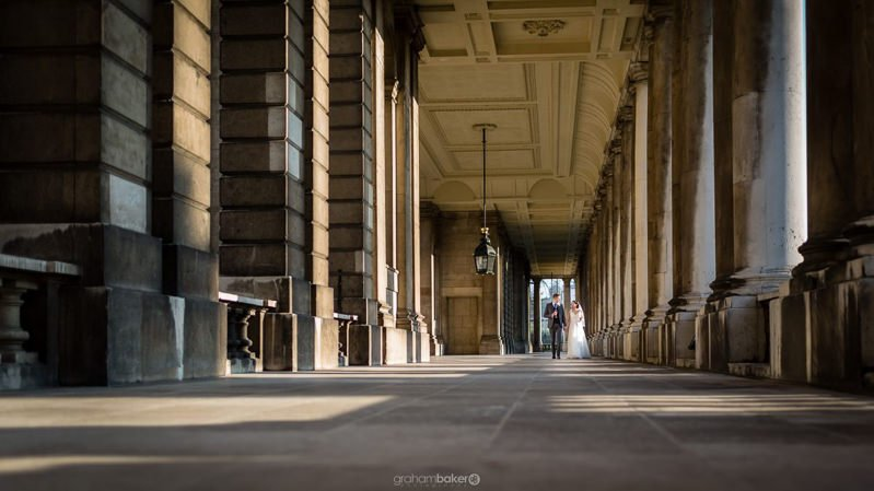Wedding at The Old Royal Naval College Greenwich | London Wedding Venue | Graham Baker Photography