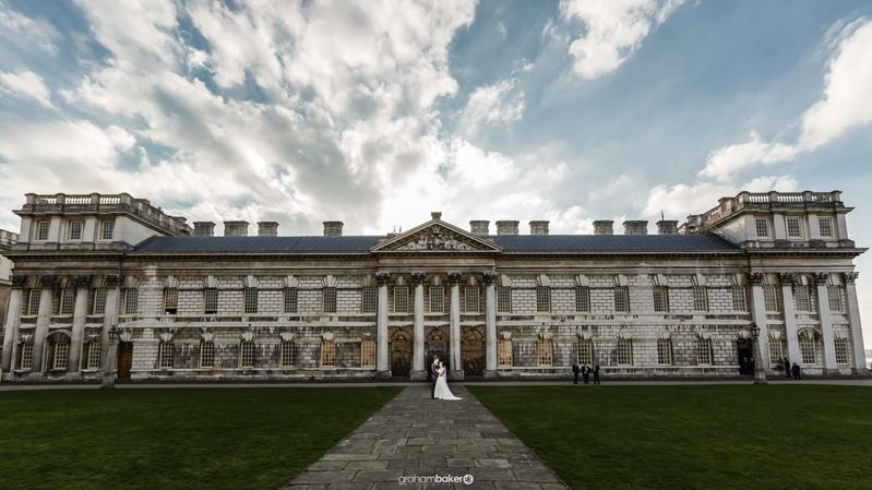 The Admiral's House Old Royal Naval College Greenwich London Wedding Venue