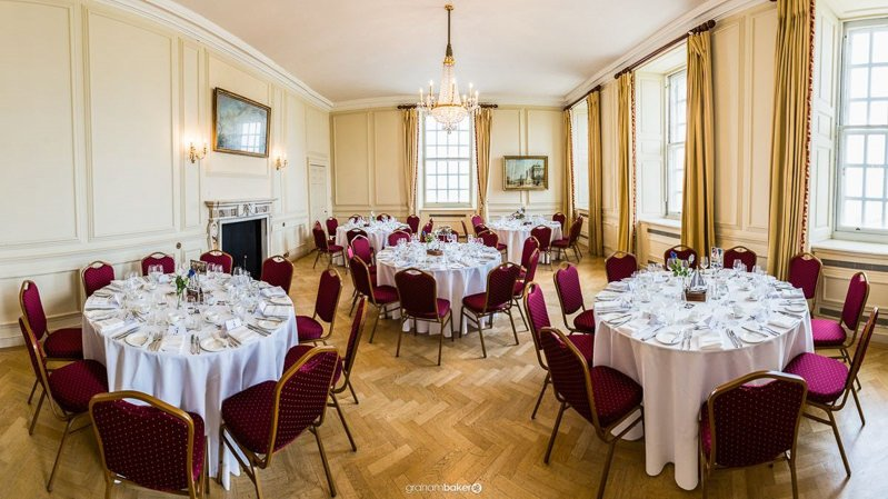 The Wren Room Old Royal Naval College Greenwich London Wedding Venue and Reception