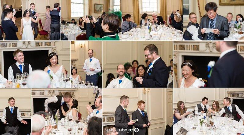 Wedding Reception at the Wren Room Greenwich