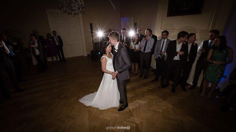 Wedding Reception Couple's First Dance - Greenwich Wedding