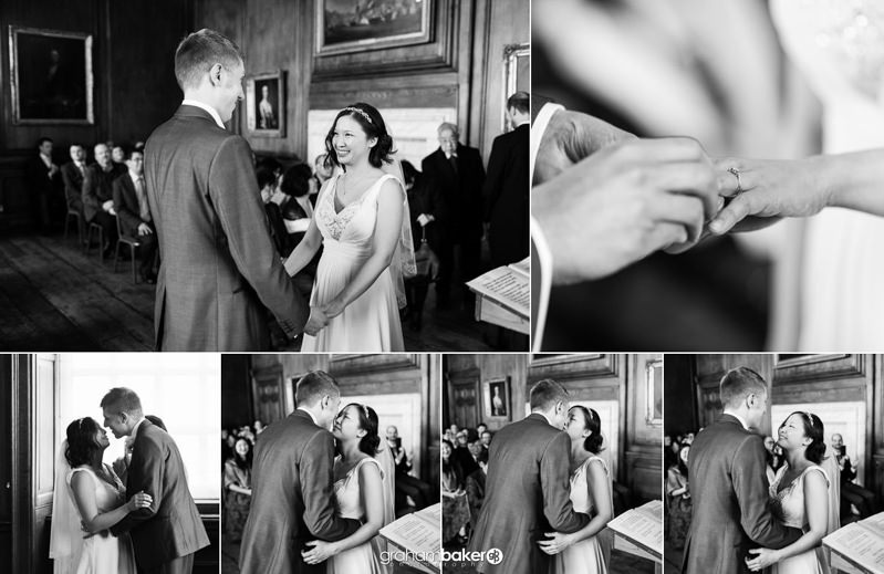 Weddings at the Admiral's House Royal Naval College London