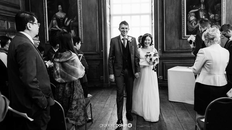Getting married at the Admiral's House Royal Naval College London
