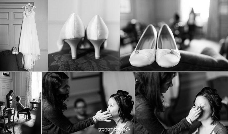 Bridal Preparations at Admiral's House Greenwich