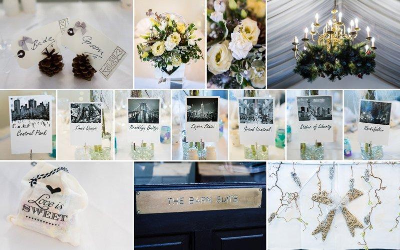 Wedding details at Barnsdale Lodge Hotel Rutland