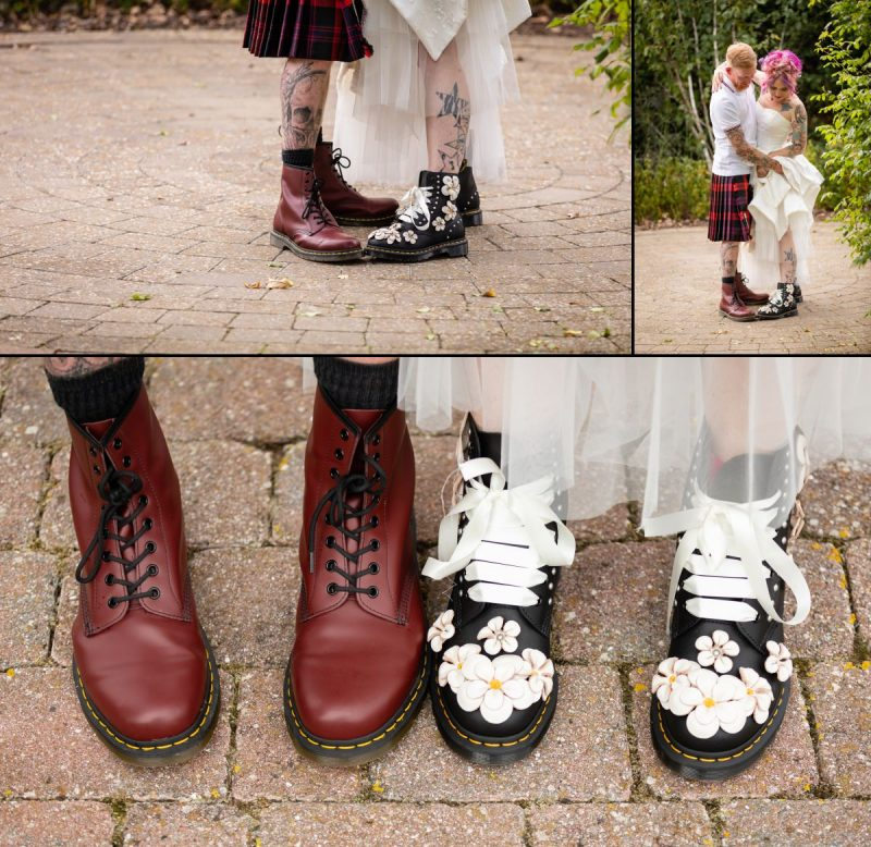 Dr Martens Boots for a Wedding