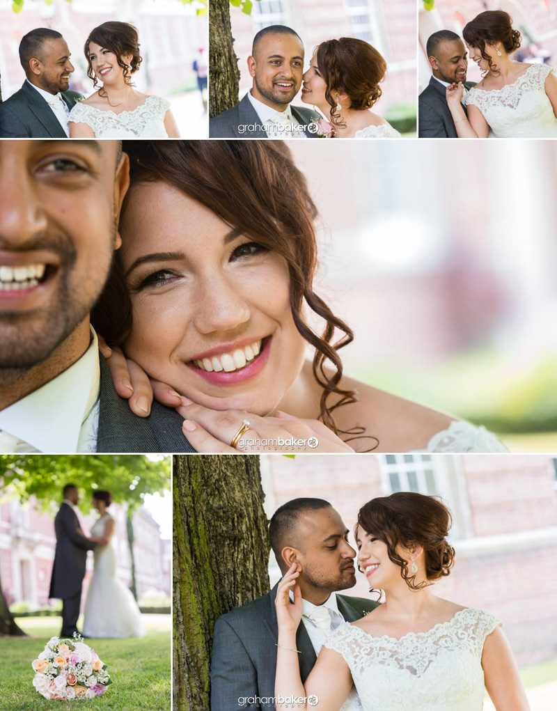 Relexed wedding couple portraits - London Wedding Photographer