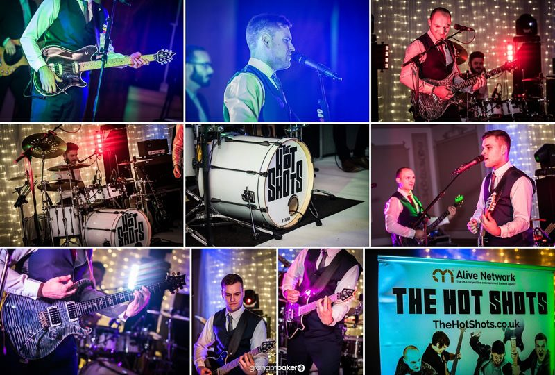 The Hot Shots - Wedding Party Band for Hire | Essex, Kent, London, Suffolk