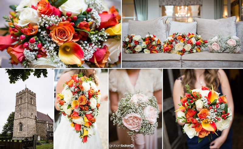 Bridal Bouquet and flowers for the Bridesmaids and Flower Girls