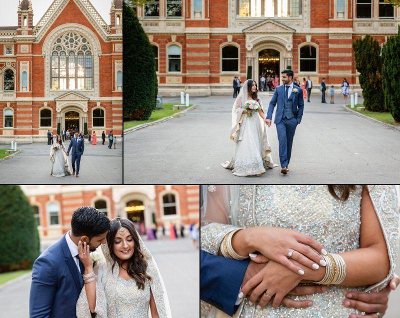 South London Wedding Couple Portraits - Dulwich College