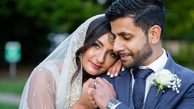 Asian Bride at Dulwich College Events London Wedding Venue