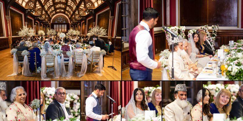 Wedding Reception at Dulwich College Events London Wedding Venue