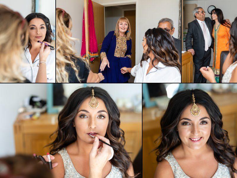 London Bride Getting Ready Photography. Makeup by Kaz Fernando Makeup