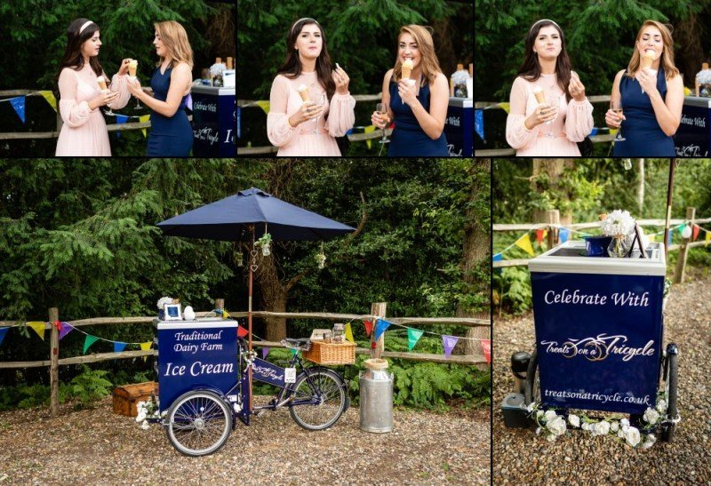Treats on a Tricycle Traditional Ice Cream for Weddings and Events