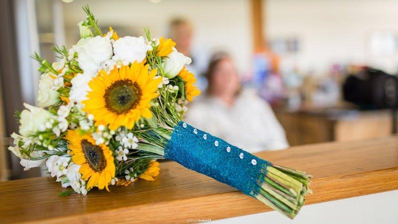 Brides bouquet - by Bless Florist Kent
