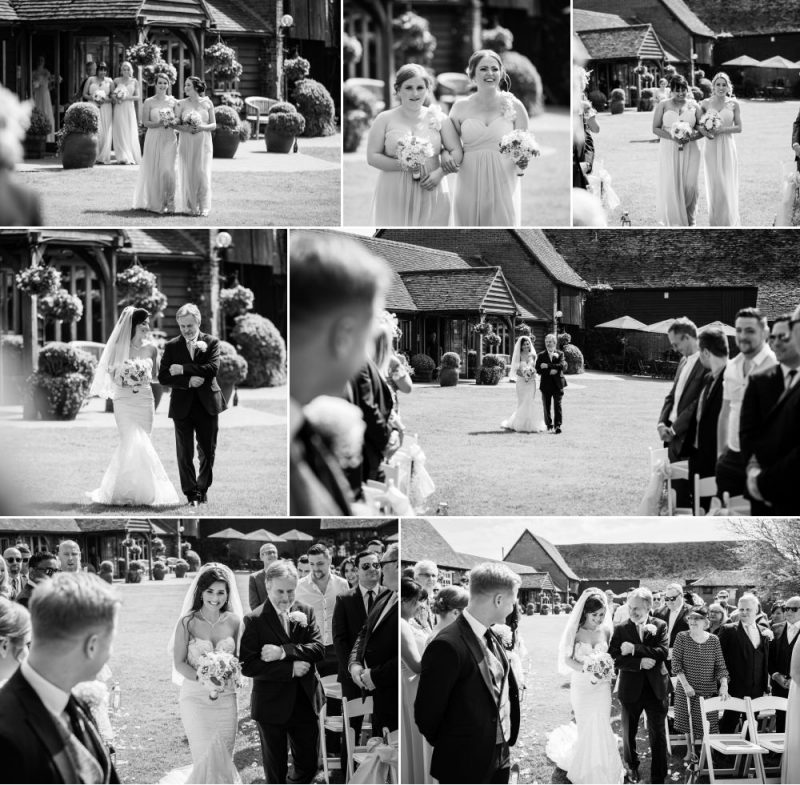 Outdoor Weddings at Cooling Castle Barn