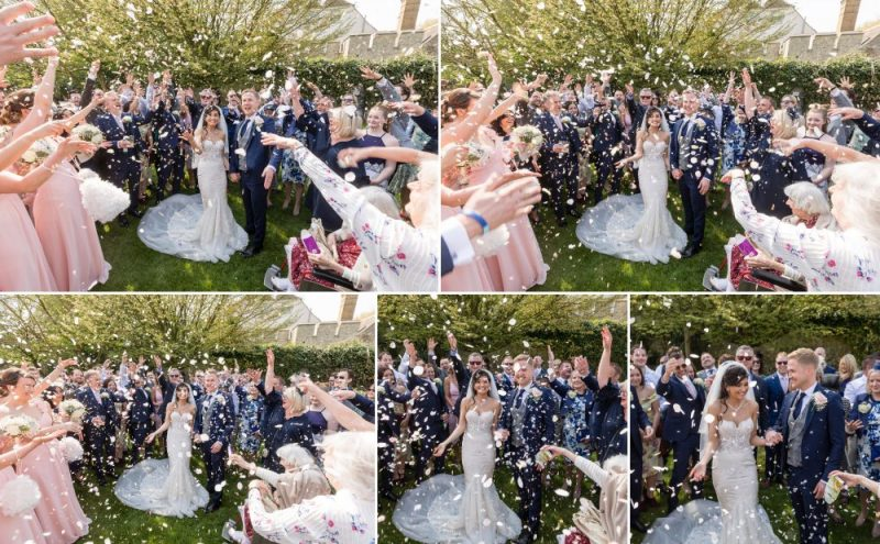 Confetti - Outdoor Weddings at Cooling Castle Barn - Kent Bride
