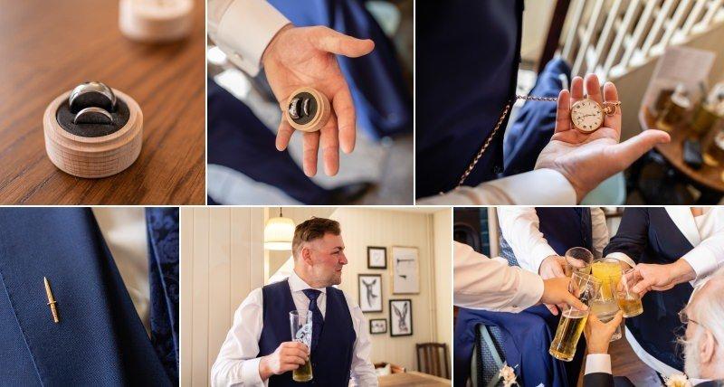 Bexleyheath Groom last minutes before getting married!