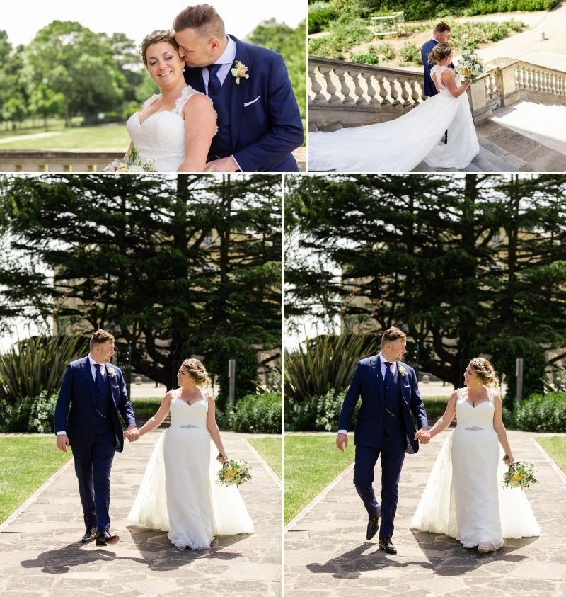 Wedding photography in Danson Park by Graham Baker Photography