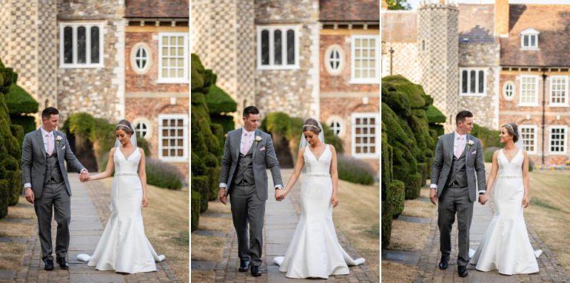 Wedding Portraits at Hall Place & Gardens Wedding Venue Bexley