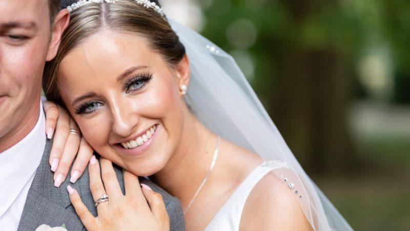 Bridal Portrait Photography at Hall Place & Gardens Wedding Venue Bexley