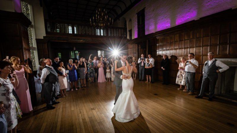Wedding First Dance at Hall Place & Gardens Wedding Venue Bexley Kent