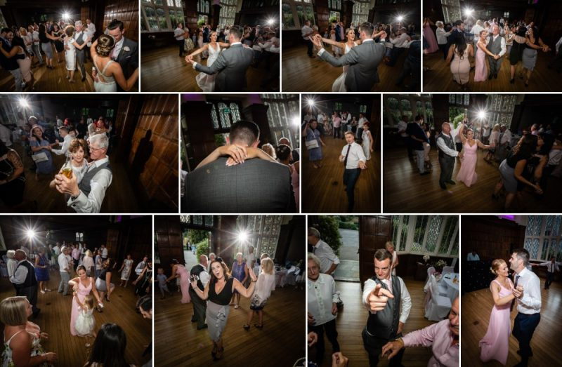 Wedding Reception and Dancing at Hall Place & Gardens Wedding Venue Bexley Kent