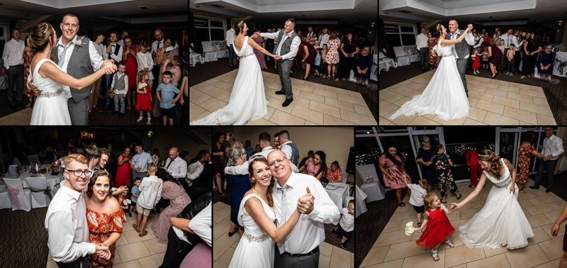 Wedding Dancing - Top Meadow Golf Club