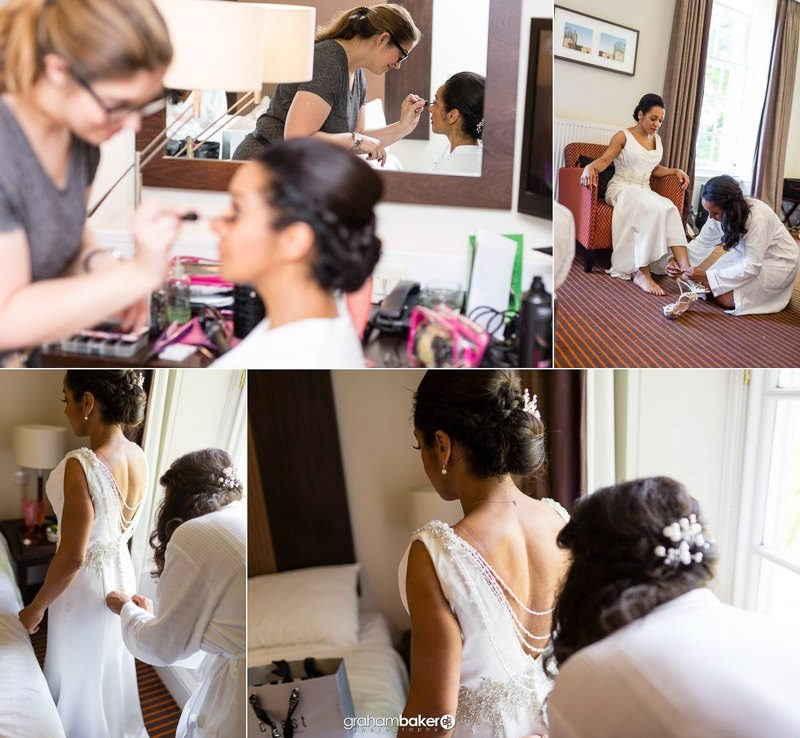 Bridal Details and getting ready at De Vere Devonport House Greenwich