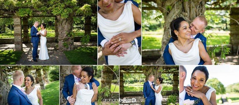 Wedding Couple Portraits - Tudor Barn - Well Hall Pleasaunce - Eltham London Park