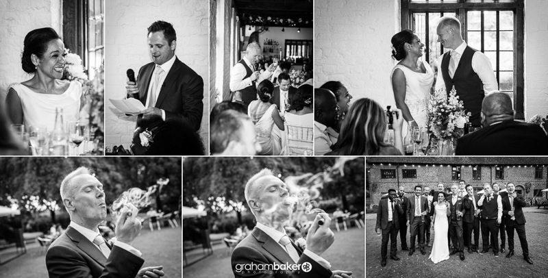 Tudor Barn Wedding Reception