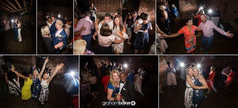 Greenwich Wedding Reception Dancing!