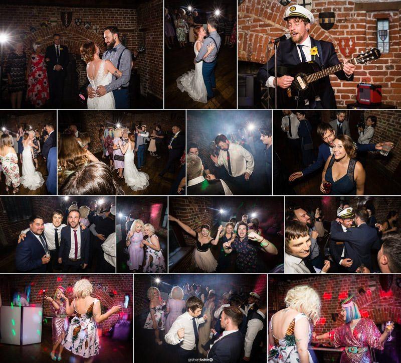 Fun Wedding Reception Photography London