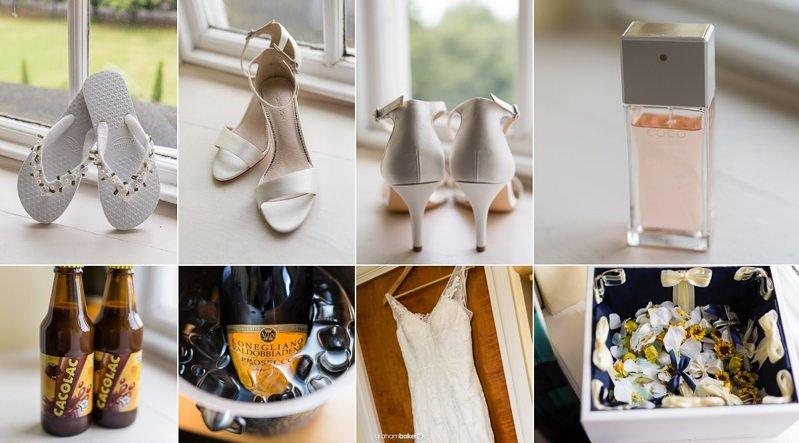 South East London Wedding Photographer - Bridal Prep Details
