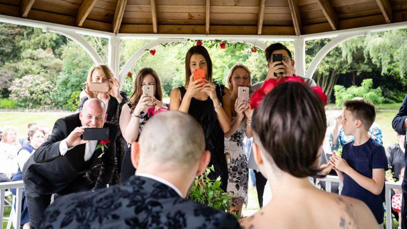 The Wedding Paparazzi! Photographing the Photographers?