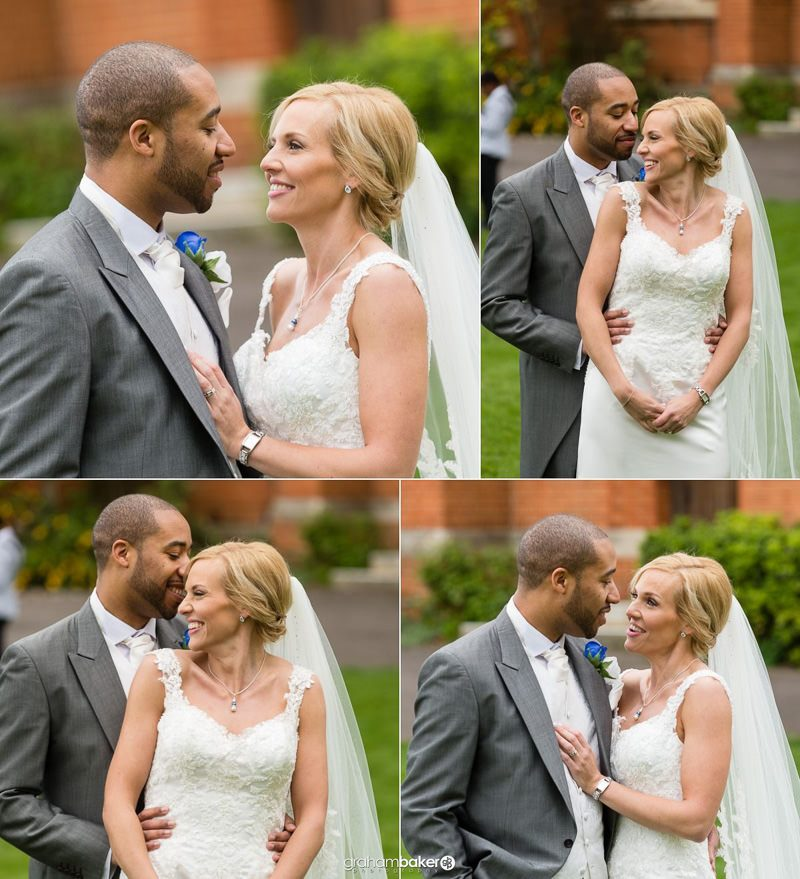 Natural Bride and Groom Photography - Wedding Couple Portraits by Graham Baker Photography