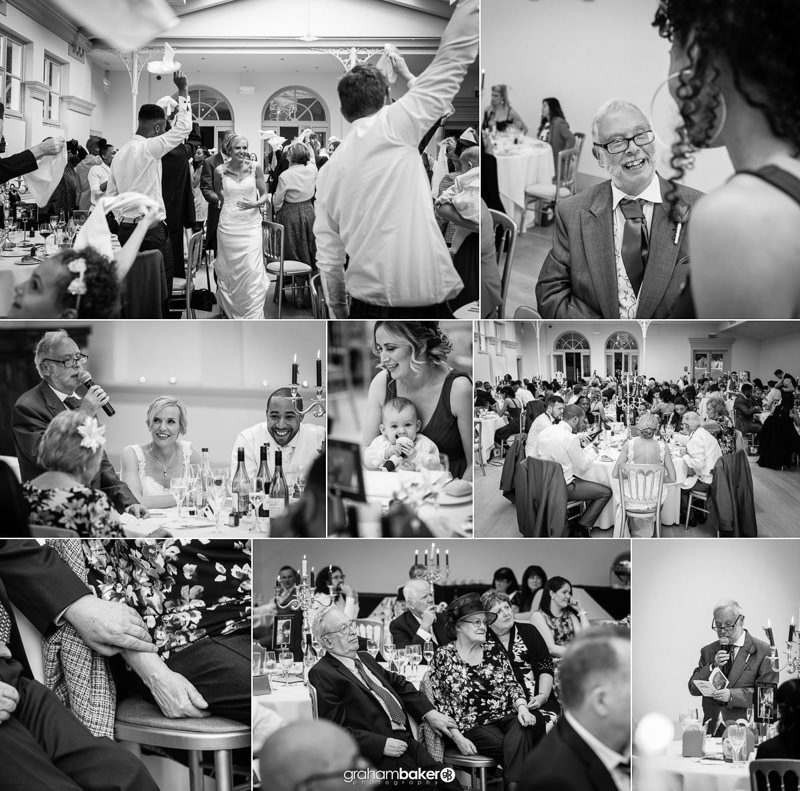 Natural Documentary Photographer Surrey   Wedding Reception Photographs by Graham Baker Photography