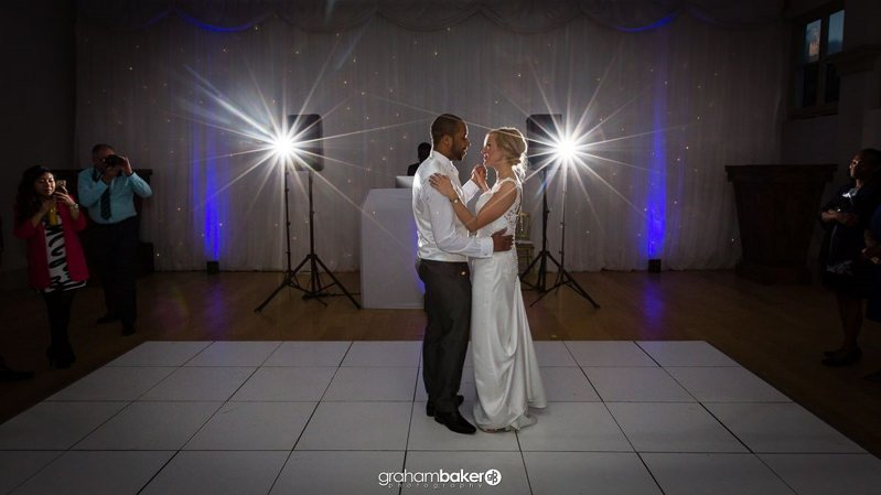 Shepperton Studios wedding Couples First Dance