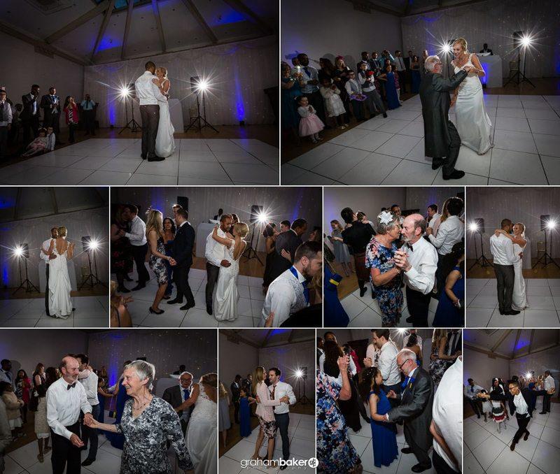 Shepperton Studios wedding Couples First Dance - by Wedding Photographer Graham Baker Photography