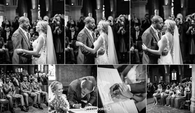 Wedding Ceremony at St Peter's Church Staines   Documentary Wedding Photographer Graham Baker Photography London and the South East