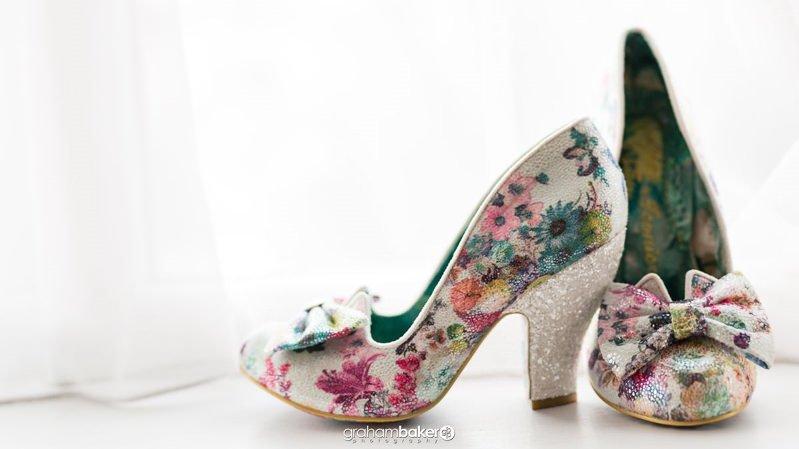 Wedding Shoes by Irregular Choice - Bridal Designer Shoes - Wedding Style Shoes - Nick of Time