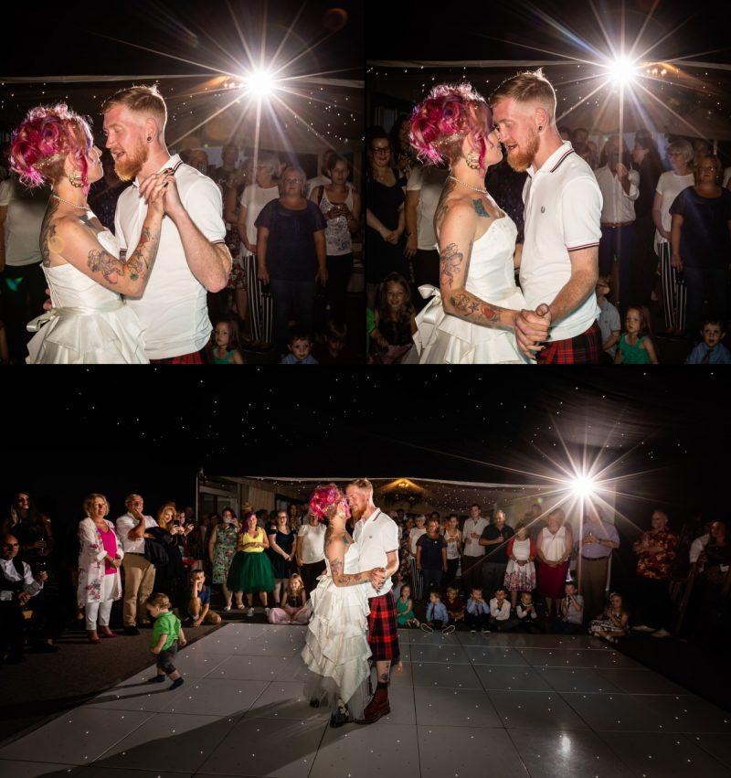 Wedding First Dance at Ferry House Inn