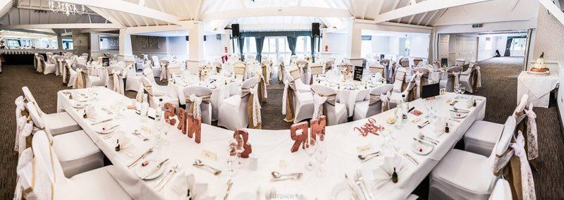 Wedding Reception decorated by Wonderland Venue Styling Kent