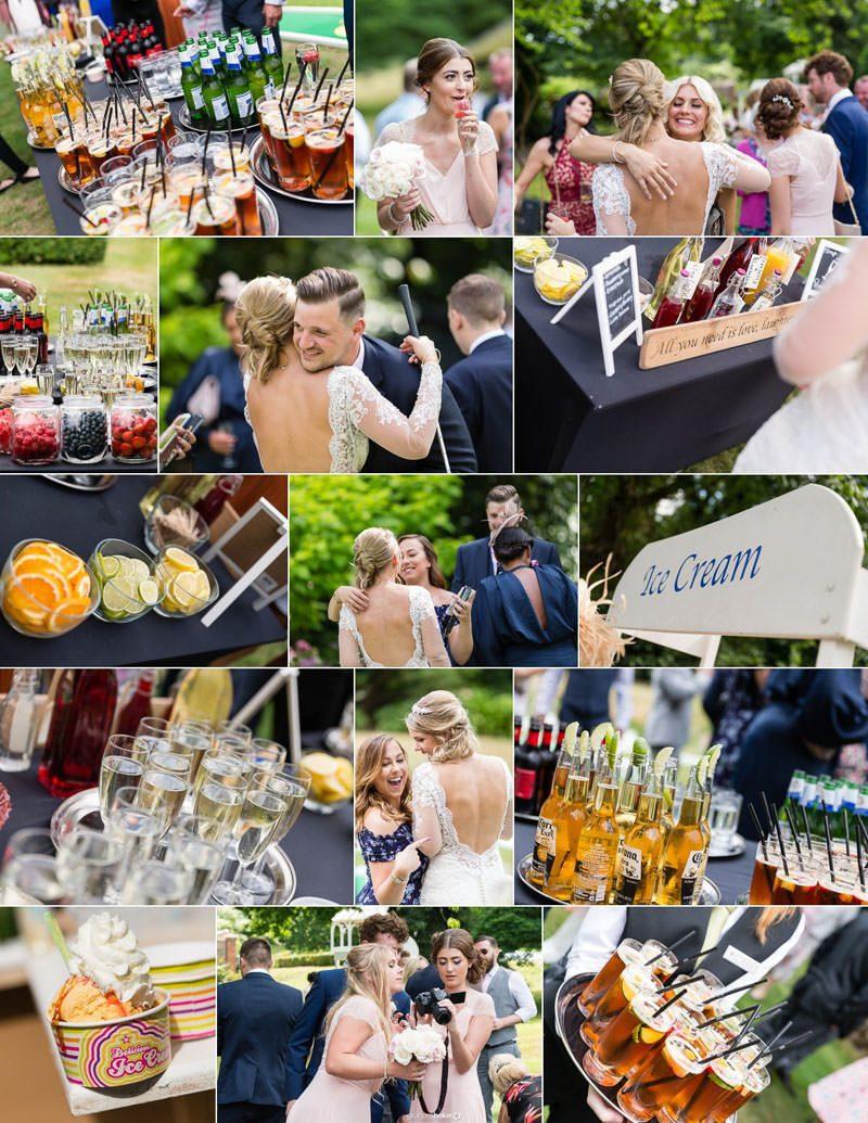 Outdoor Wedding Reception – Kent Documentary Wedding Photographer Graham Baker Photography