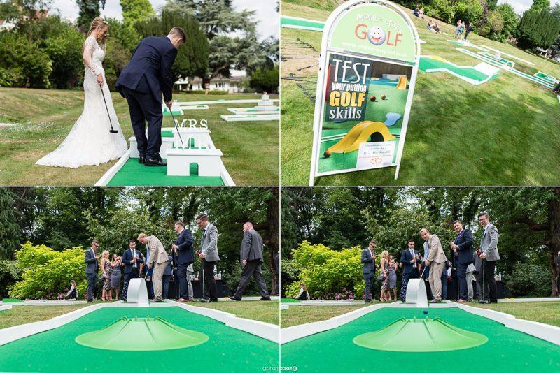 Wedding Mini Golf!